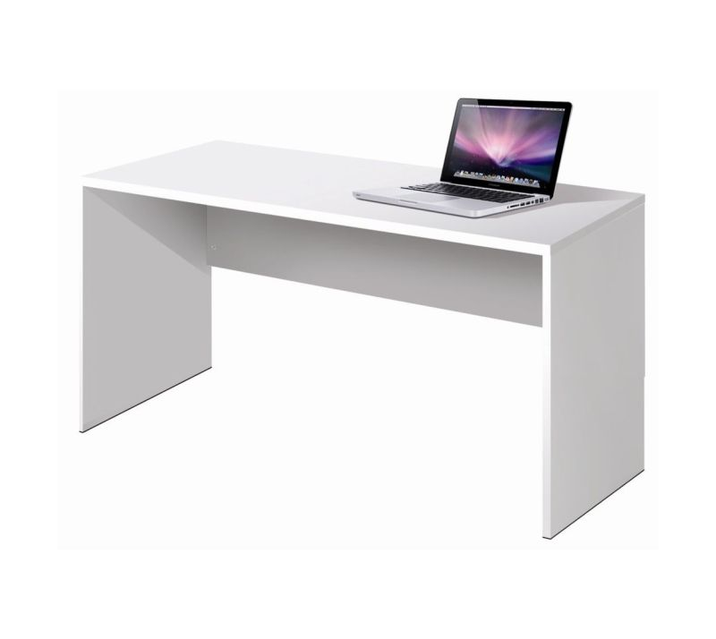 Mesa escritorio 120 60 - Mesa de estudio blanca ...