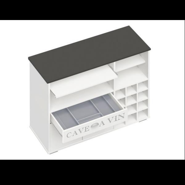 Mueble auxiliar para cocina muebles cocina auxiliares reforma de un piso en oviedo ideas - Auxiliar cocina ...