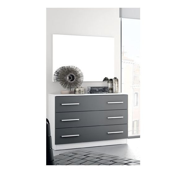 Conjunto c moda 3 cajones con espejo - Comoda con espejo ...