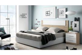 Dormitorio Sophie Cabecero con 2 mesitas composicion S521