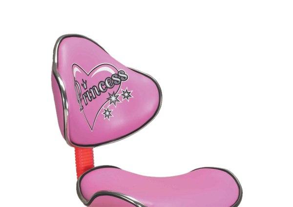 Silla escritorio modelo princess for Silla escritorio rosa