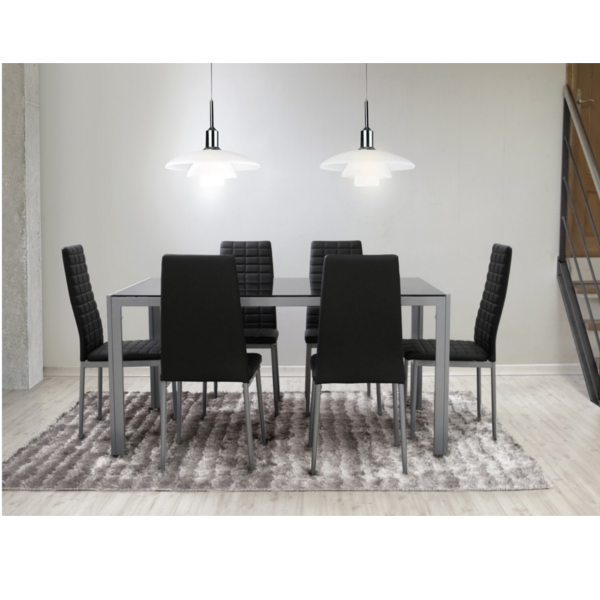 Pack auva mesa y 6 sillas for Comprar mesa y sillas comedor