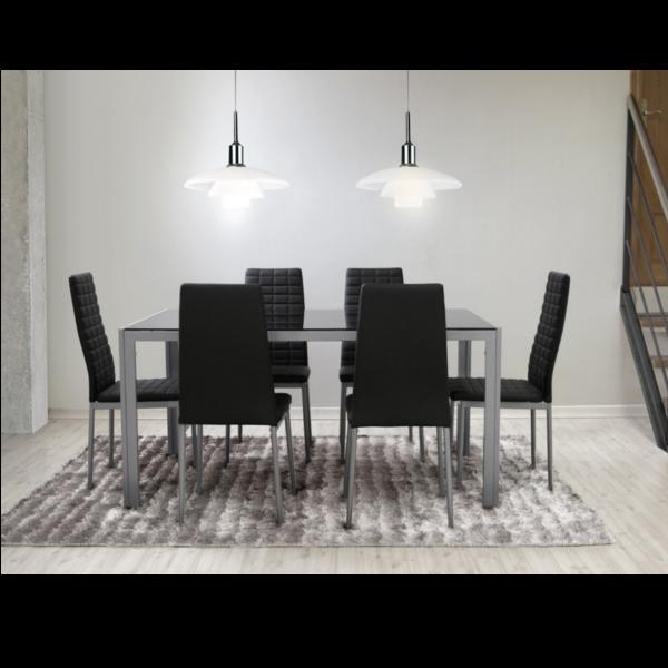 Pack auva -Mesa y 6 sillas - KitMuebles.com