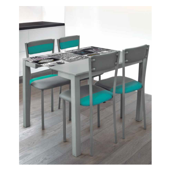Pack serra mesa y sillas cocina - Sillas plegables de cocina ...