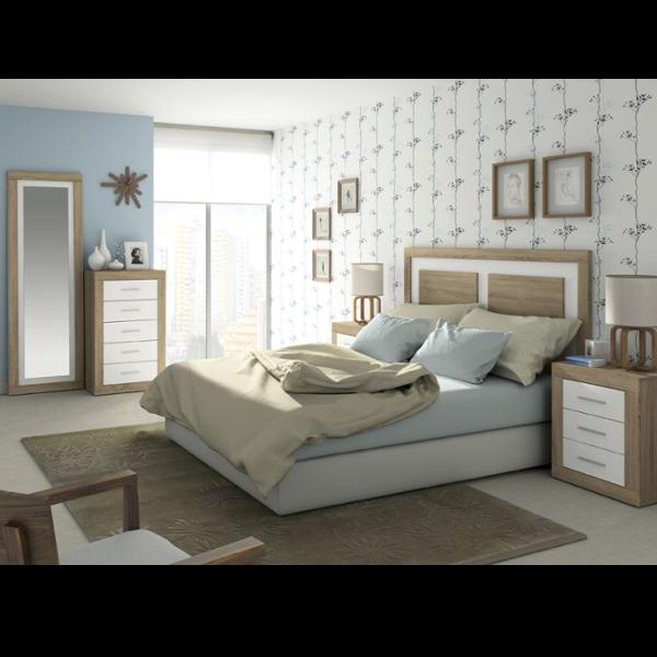 Conjunto dormitorio jordan 20 for Dormitorios de matrimonio blancos