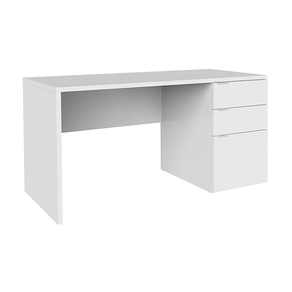 Escritorio 3 cajones d044 for Mesa escritorio con cajones