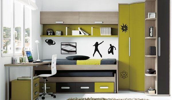 Habitaciones peque as grandes soluciones - Habitaciones juveniles pequenas ...