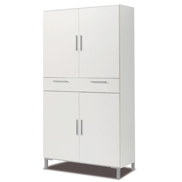 Armario de hogar para cocina o baño 4 puertas 1 cajon