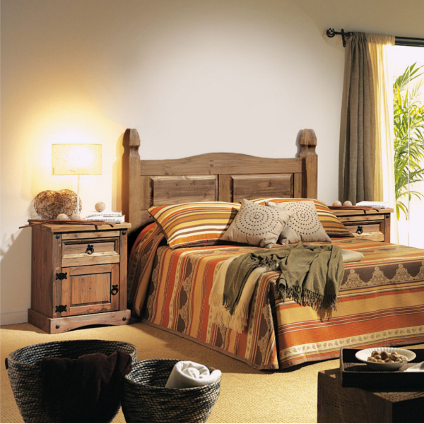 Matrimonio Rustico Dormitorios : Dormitorio matrimonio rustico kitmuebles