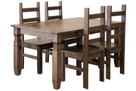 Mesa comerdor fija rustica
