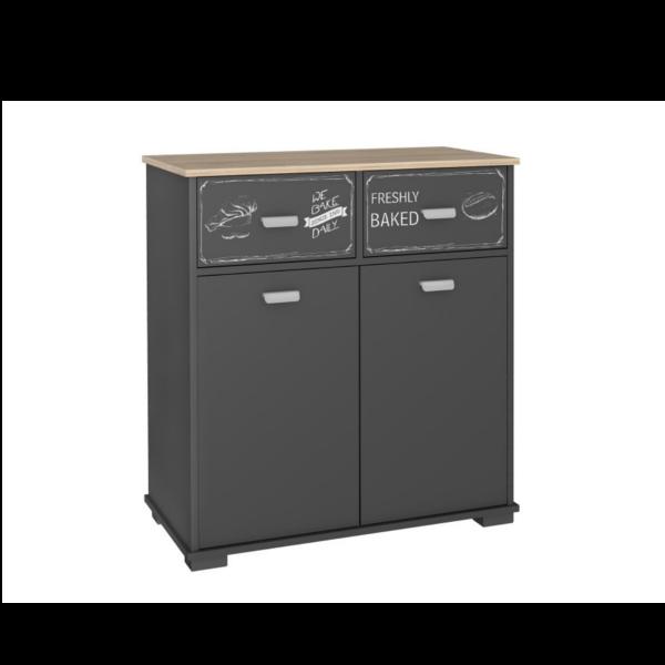 Muebles auxiliar de cocina 2 puertas 2 cajones bakery for Muebles auxiliares de cocina
