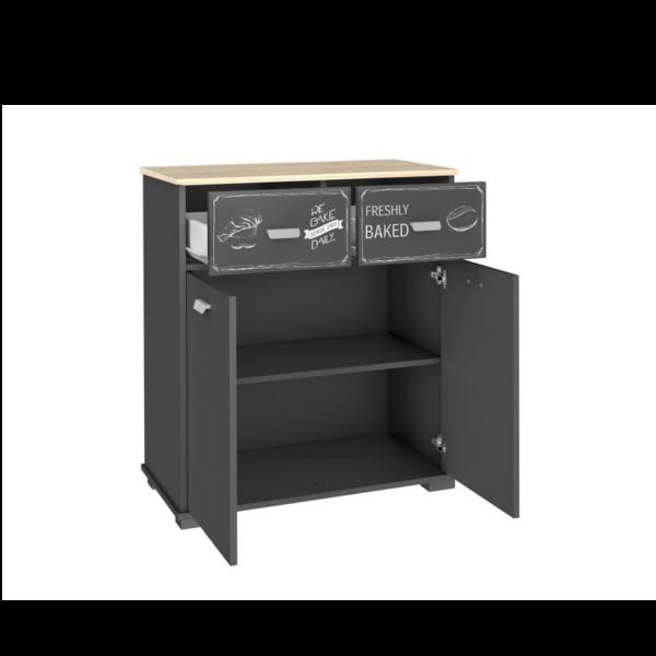 Muebles auxiliar de cocina 2 puertas 2 cajones Bakery - KitMuebles.com