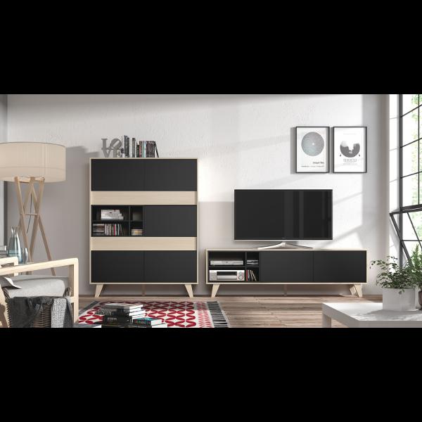 Mueble de salon tv zaiken for Mueble ordenador salon