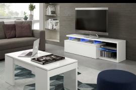 Mueble de salón para TV Blue-Tech con iluminacion LEDS