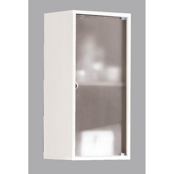 Mueble alto de ba o modelo sidney blanco for Muebles altos de bano