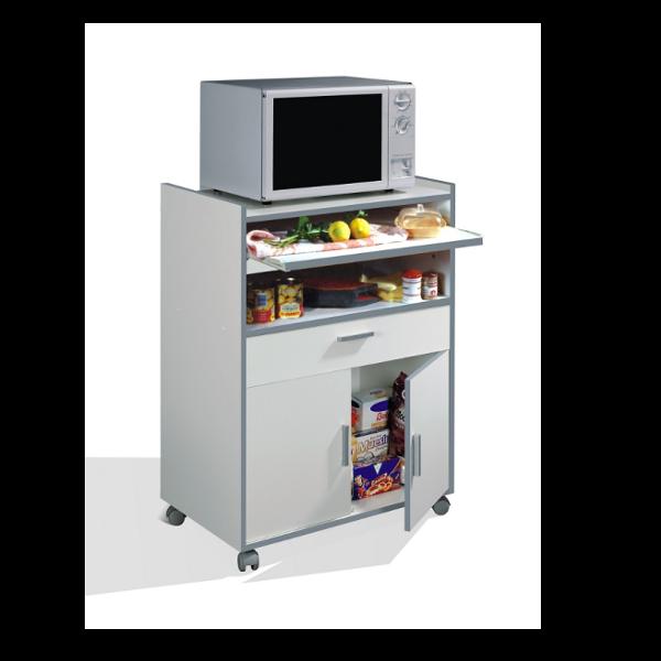 Mueble para microondas con ruedas - Auxiliar cocina ...