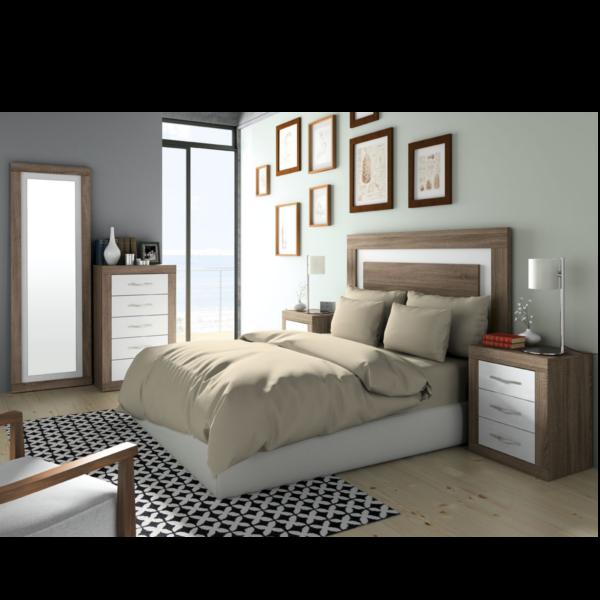 Conjunto dormitorio jordan 284 for Conjunto dormitorio