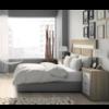 Dormitorio JORDAN-16 composicion 282 Cambrian-Soul blanco