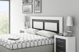 Dormitorio JORDAN-16 composicion 282 Soul Blanco-Grafito mate