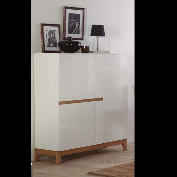 Mueble auxiliar sandrine 3 puertas for Mueble auxiliar salon