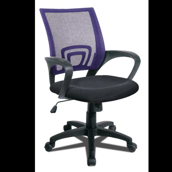 Silla de oficina asiento elevable y respaldo transpirable