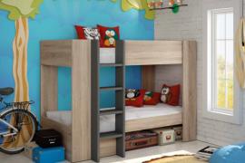 Dormitorio juvenil Litera con escalera