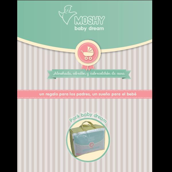 Pack de cuna Moshy 120 x 60