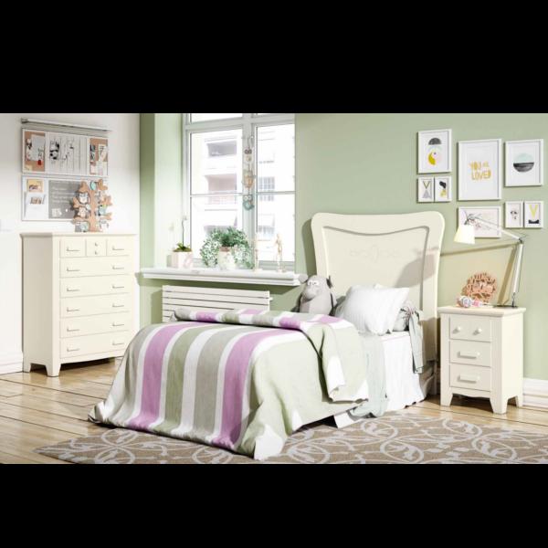 Dormitorio Juvenil Ocean 294 blanco