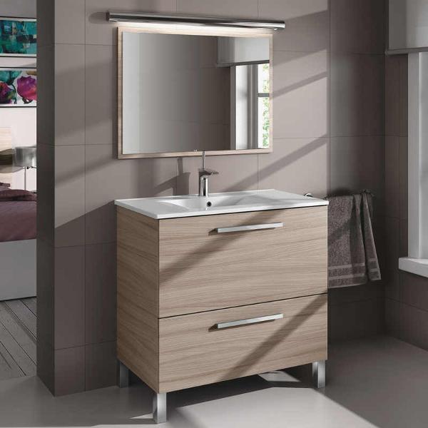 Mueble con espejo para bano bogota for Mueble bano sin lavabo
