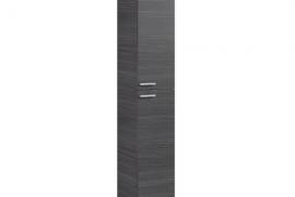 Columna para baño modelo Amara acabado en gris ceniza.
