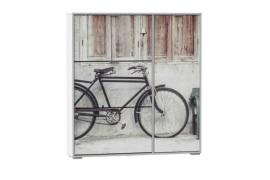Zapatero armario modelo Bicicleta de gran capacidad