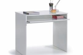 Mesa escritorio modelo Joy acabado blanco brillo
