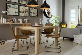 Mesa de comedor deslizante programa Yoko de Muebles AzorR