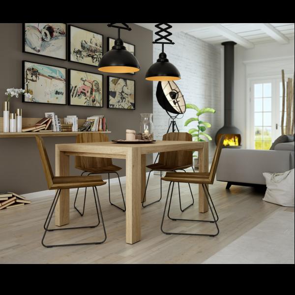 Mesa de comedor pata deslizante modelo yoko for Mesas de comedor ofertas