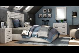 Dormitorio 207 Jordan con comodin y marco