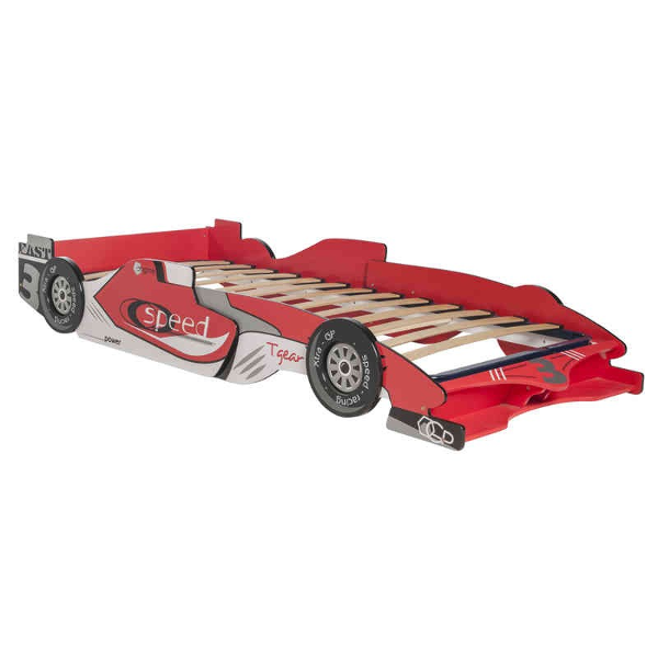 Camas coche para nios espaa top red racing car bed kids - Cama coche cars ...