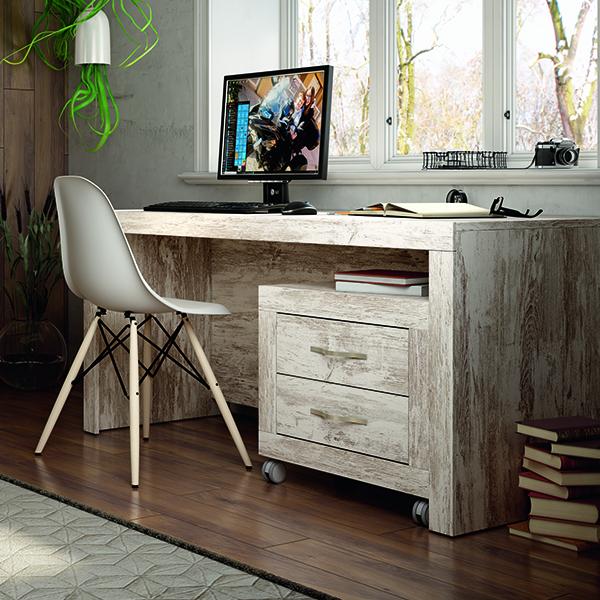 Mesa de despacho moon de 150 cm - Mesas de despacho ...