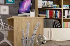 Mesa de despacho YOKO de 150 cm de Muebles Azor