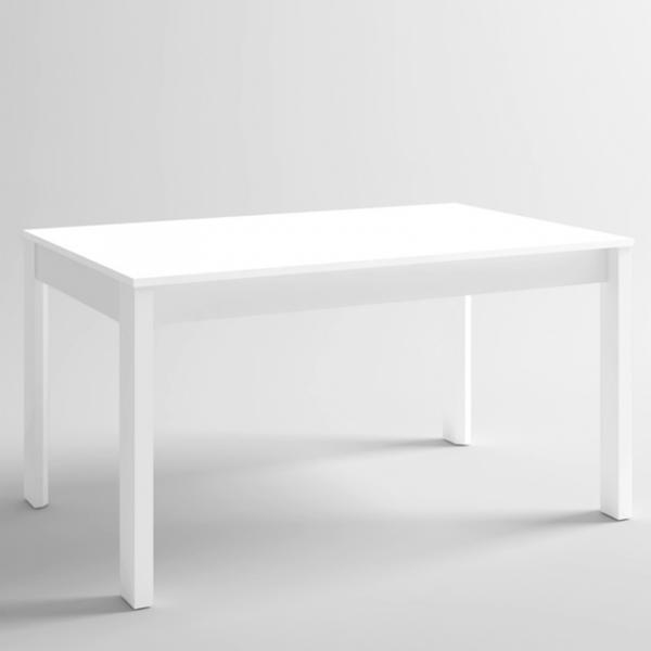 Mesa rectangular Malmo acabado blanco