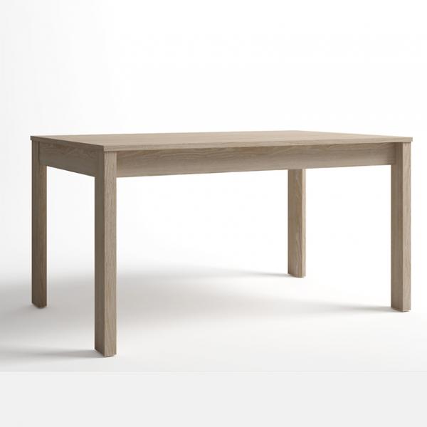 Mesa rectangular Malmo extensible acabado sable-cambrian