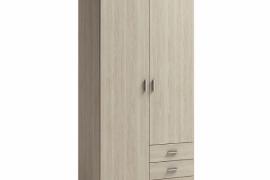armario roma 2 puertas 3 cajones
