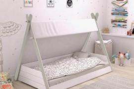 cama infantil tienda india modelo Totem