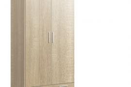 Armario 2 puertas cambrian combinado con frente de puertas y cajón en color cambrian