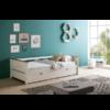 cama nido blanco-roble modelo Lola