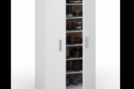 armario multiusos basic 2 puertas