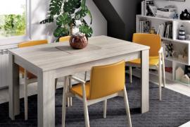 Mesa de comedor Dine extensible gris