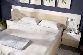 dormitorio alice blanco brillo natural