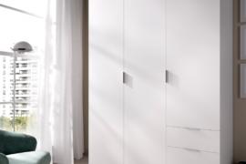 armario 3 puertas 3 cajones exteriores acabado blanco Dekit del Grupo Rimobel