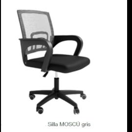 Silla escritorio Moscú gris