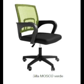 Silla escritorio Moscú verde